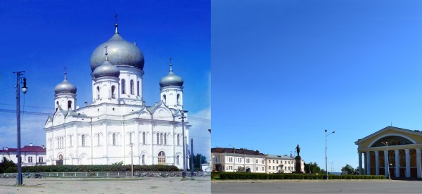 Holy Spirit Cathedral in Petrozavodsk. 1916/2012. (V. Ratnikov)