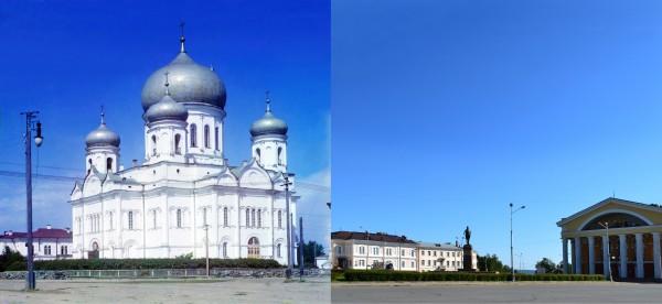 Holy Spirit Cathedral in Petrozavodsk. 1916/2012. (V. Ratnikov)