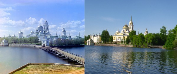 In the Footsteps of Photographer Prokudin-Gorsky: Russian Holy Places One Hundred Years Later