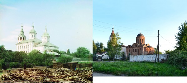 Smolensk. Twelfth century Church of Sts. Peter and paul. 1912/2012. (V. Ratnikov)