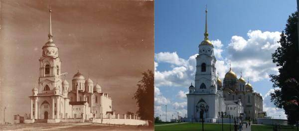 Dormition Cathedral. Vladimir. 1911/2009. (V. Ratnikov)