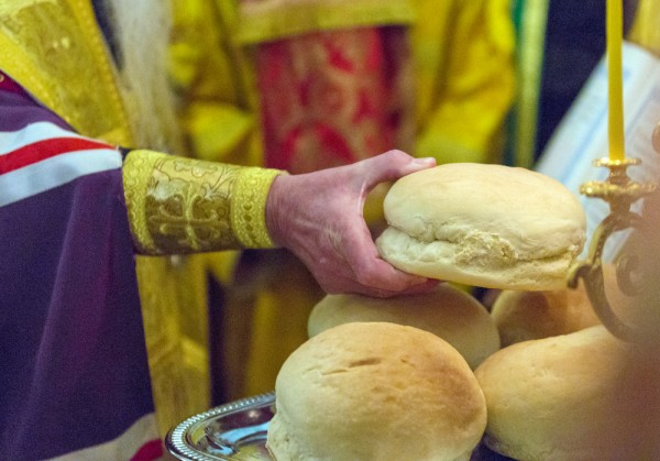 Blessing of the bread