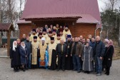 Group of Clergymen of the Kiev Diocese Sets Off for Combat Zone in the Eastern Ukraine