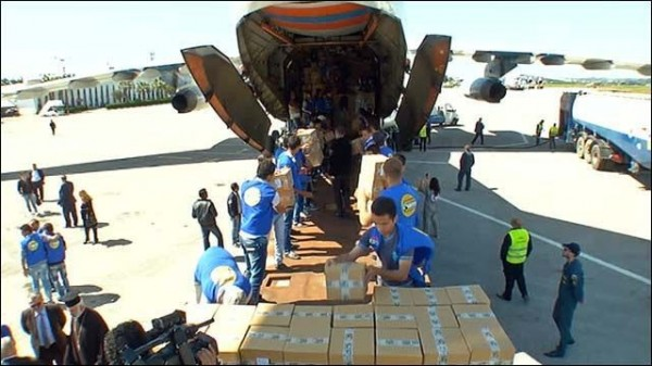 Russia Sends 30 Planeloads of Relief Aid to Syria in Last 18 Months