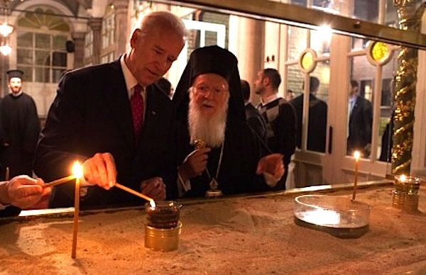 US VP Biden Visits Greek Orthodox Patriarch in Istanbul