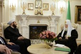 His Holiness Patriarch Kirill meets with the Grand Mufti of Syria