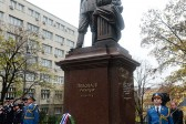 Russian, Serbian patriarchs sanctify monument to Nicholas II in Belgrade