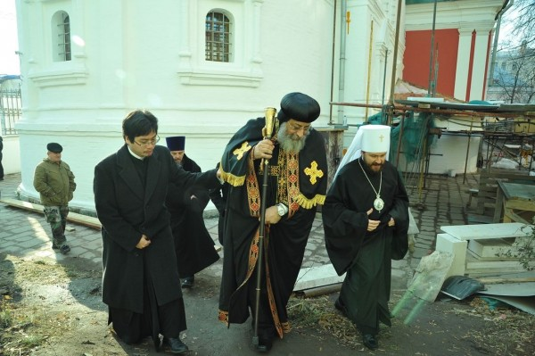 Primate of the Coptic Church completes his visit to Russia