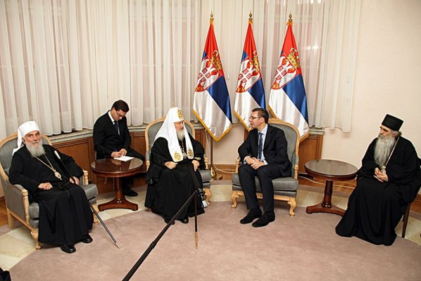 Gratitude to Russia for the donation for internal decoration of Saint Sava Memorial Cathedral in Belgrade