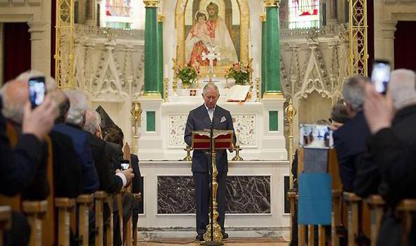 Prince Charles speaks of 'soul-destroying tragedy' facing Christians in Middle East