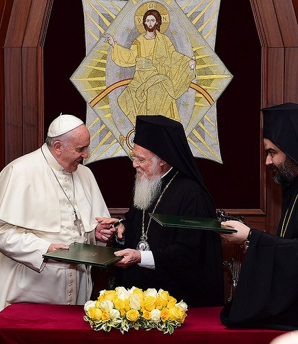 Joint Declaration of His Holiness Pope Francis and His All-Holiness Ecumenical Patriarch Bartholomew (November 30, 2014)