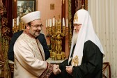 His Holiness Patriarch Kirill meets with President of Religious Affairs of the Republic of Turkey