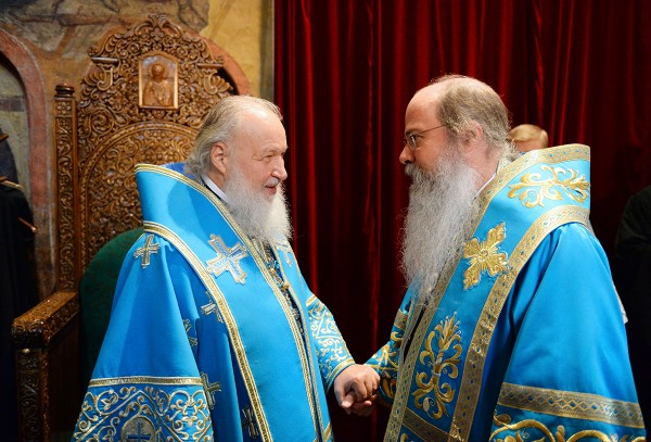 """Patriarch Kirill: """"Orthodox Church is the Bridge that is Able to Unite Russian and American Peoples"""