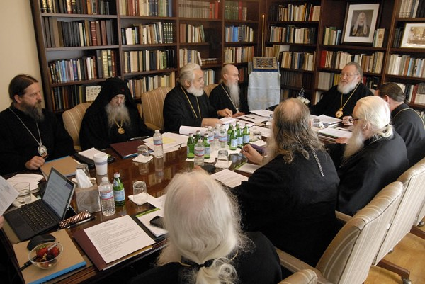 A Regular Session of the Synod of Bishops is Convening at the Residence of the First Hierarch of the Russian Church Abroad