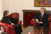 Metropolitan Hilarion meets with Macedonia's President and Prime Minister