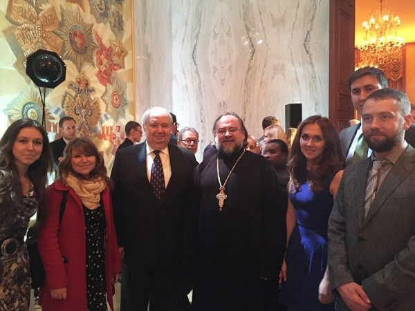 A Representative of the Synodal Youth Department Meets With the Russian Ambassador to the United States