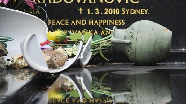 The vandals also smashed ornaments and vases. Picture: Phillip Rogers