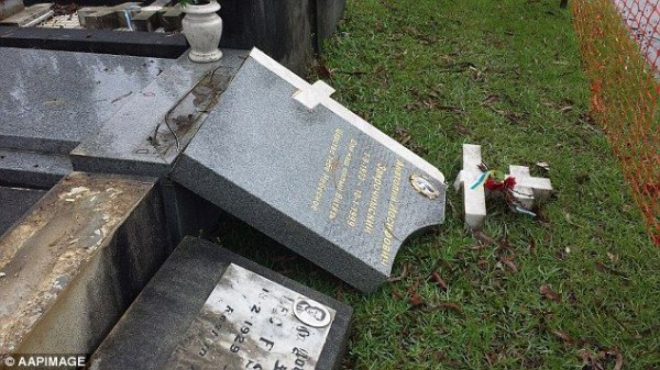 Relatives Are Shocked by the Desecration of Graves in Sydney's Russian cemetery