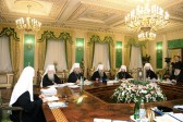 The Holy Synod of the Russian Orthodox Church meets for its last session in 2014
