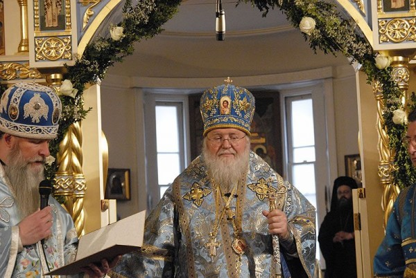 Metropolitan Hilarion of Eastern America and New York Sends Nativity Greetings to His Holiness Patriarch Kirill of Moscow and All Russia