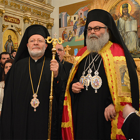 New Head of Antiochian Church in America Enthroned; Antiochian Patriarch to Meet with Officials on Issues in Syria