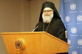His Beatitude, John X, Patriarch of Antioch and all the East Visits the United Nations, Holds Press Conference