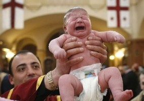 Georgian Patriarch to Become Godparent to…