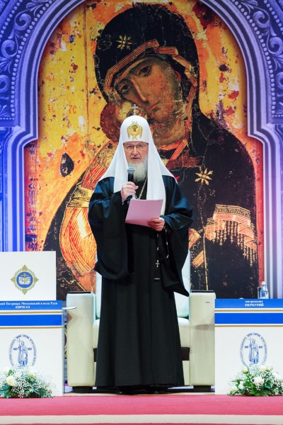 Patriarch Kirill Opens 23d International Educational Christmas Readings