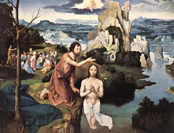 Joachim Patinir. 1515 Kunsthistorisches Museum, Vienna, Austria.