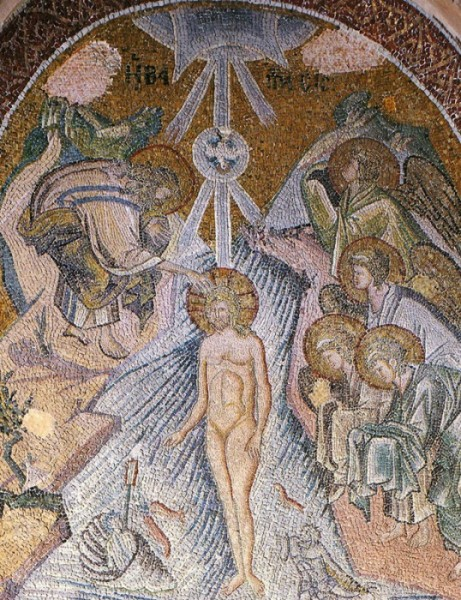 Mosaic from the Monastery of Chora (Kahrie Cami) in Constantinople. 1316-1321. Istanbul, Turkey.