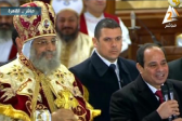 Egypt's President al-Sissi makes historic Christmas visit to Coptic church in Cairo