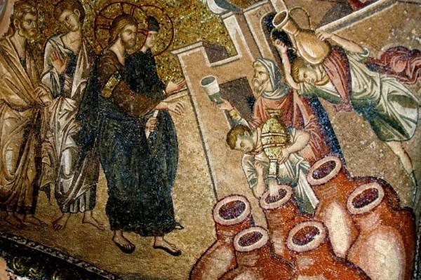 Mosaic in Chora Church, Istanbul