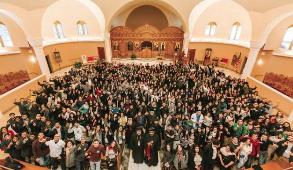 Bishop John addressed the 2014 One Conference, a Pan-Orthodox Youth Gathering in New Jersey, on November 29, 2014.