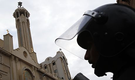 Gunmen Kill 2 Egyptian Policemen Guarding Coptic Church