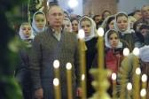 Putin Wishes Orthodox Christians a Merry Christmas