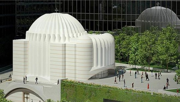 Calatrava Talks about Greek Orthodox Church on Ground Zero