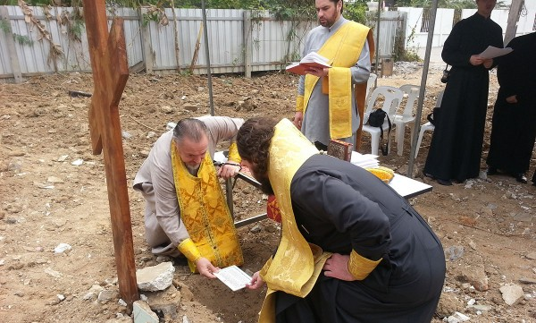 Foundation stone of church  of St. Vladimir the Baptizer of Rus laid in Thailand