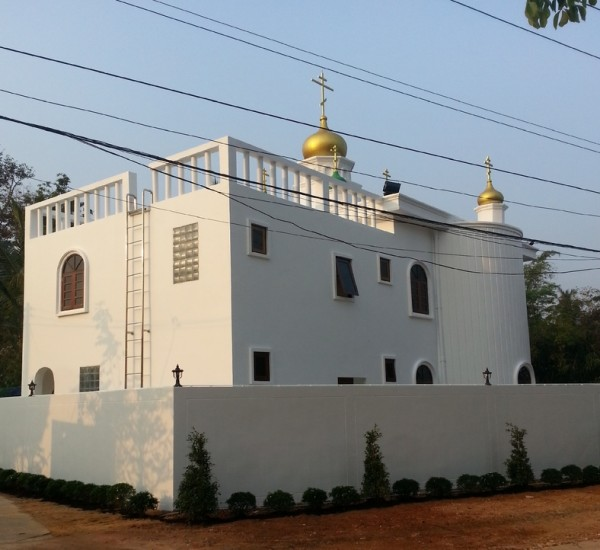 Church of St. Sergius of Radoneh consecrated in Chang Island, Thailand