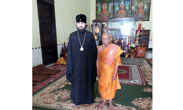 Hierarch of Russian Orthodox Church visits Cambodia