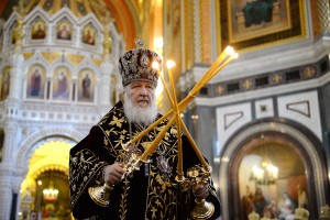 His Holiness Patriarch Kirill celebrates Divine…