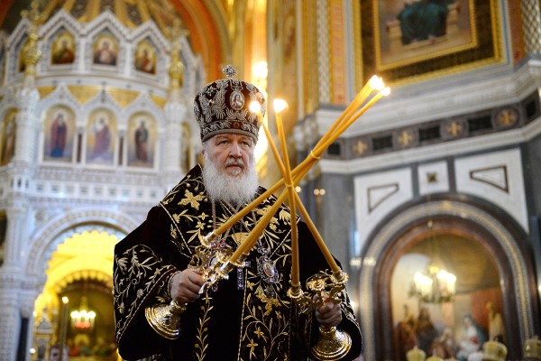 His Holiness Patriarch Kirill celebrates Divine Liturgy on the 6th anniversary of his enthronement