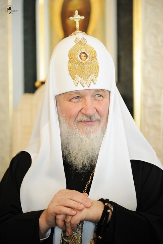 Seine Heiligkeit Kyrill I. (Gundjajev) Patriarch von Moskau und ganz Russland