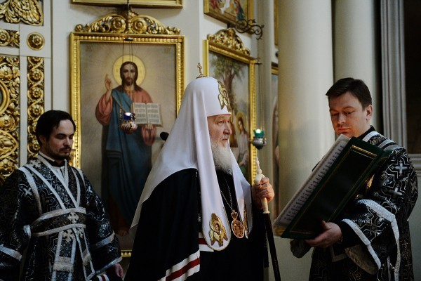 "Patriarch Kirill: ""The Time of the Holy Forty Days is a Time of Struggling with Ourselves"""
