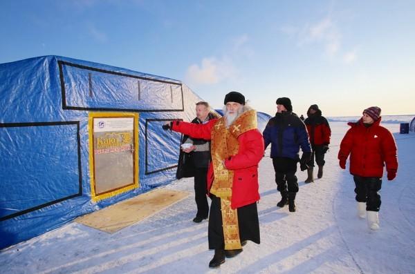 The consecration of a polar camp