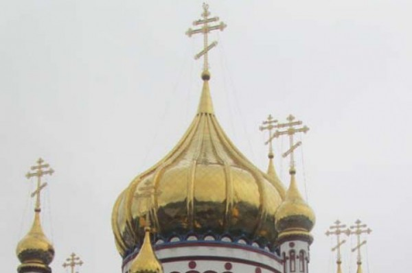 Orthodox church vandalized in west Ukraine