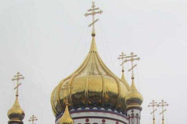 Orthodox church vandalized in west Ukraine