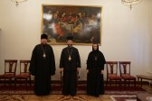 Representative of Serbian Orthodox Church calls on Archbishop Jovan of Ohrid in St Petersburg
