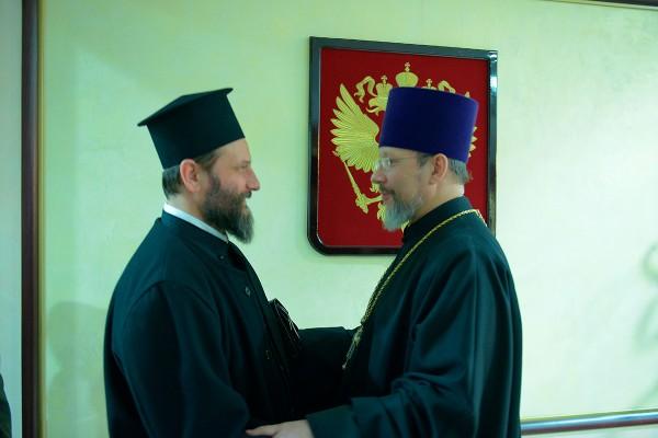 Archbishop Jovan of Ohrid arrives in Russia