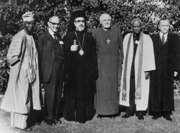 Assembly of the World Council of Churches, 1960. Photo:  Greek Orthodox Archdiocese of America