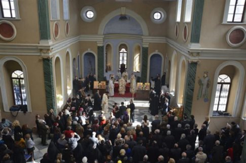 Ecumenical Patriarch Performs Historic Liturgy in Izmir